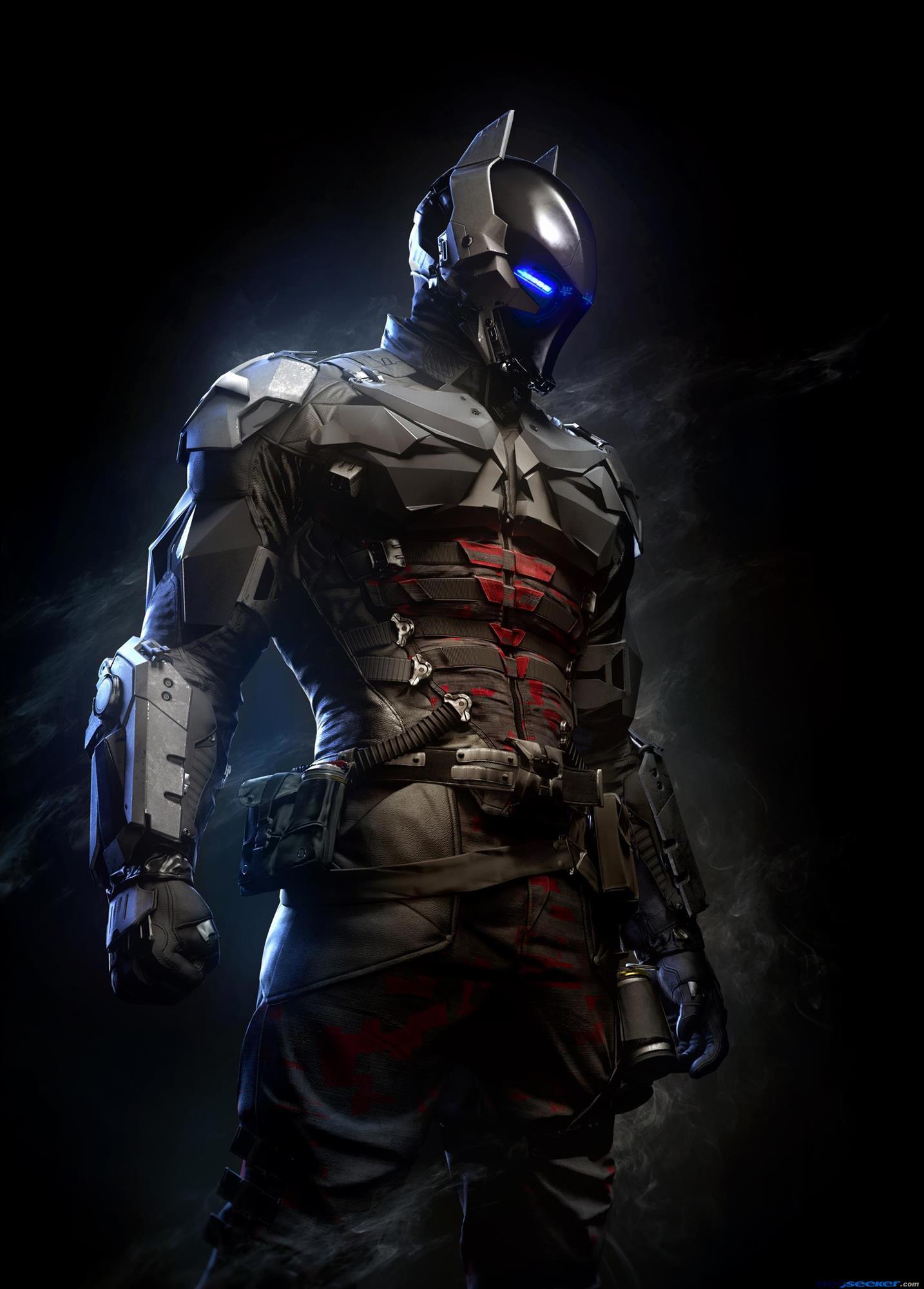 Diện mạo cực ngầu của Arkham Knight