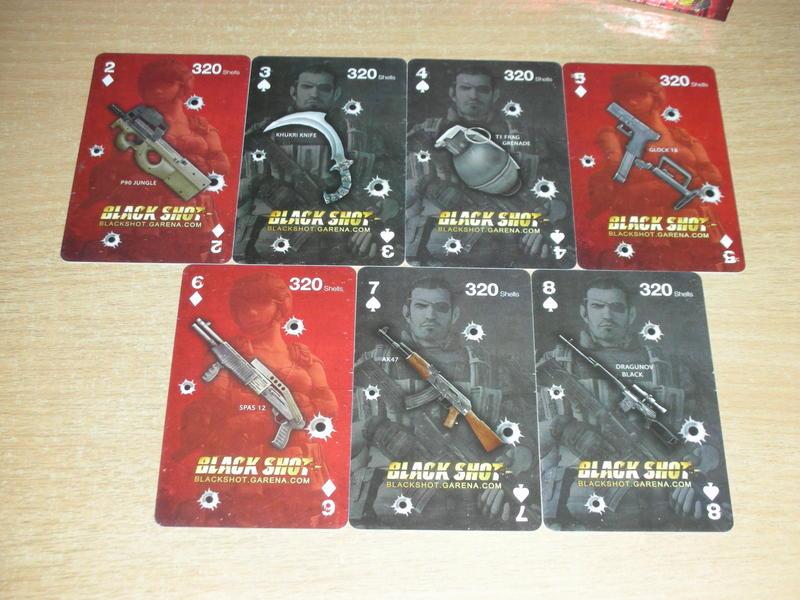 Thẻ nạp của Black Shot