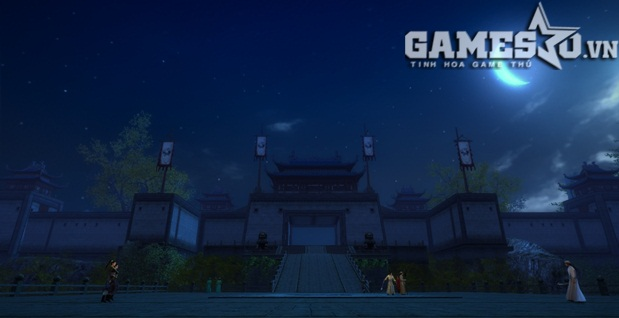 Cảnh đêm tuyệt đẹp trong Thanh Vân Bảo Tu La