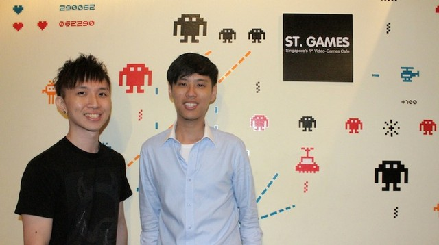 """Hai """"ông chủ"""" trẻ của quán Lee Ming Wei và Lee Teck Hou"""