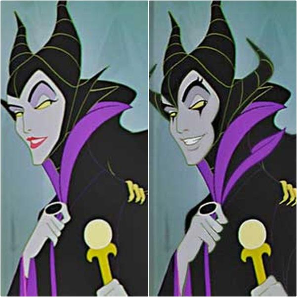 Hoàng hậu trong Maleciffent sau khi chuyển giới trông rất đẹp trai và men lì
