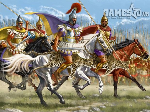 Macedonian - đội quân hùng mạnh của Alexsander Đại Đế