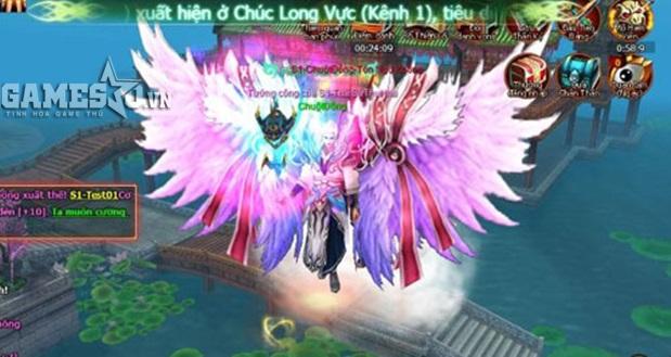 Những đôi cánh tuyệt đẹp luôn là phần thưởng hấp dẫn trong Cuồng Ma Chi Kiếm.