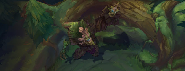 Hình ảnh của Maokai tiếp tục được Riot Games nâng cấp