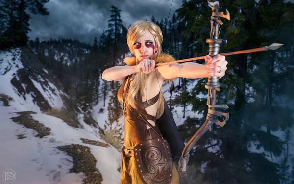 Nữ cung thủ phương bắc của MMORPG Mount and Blade