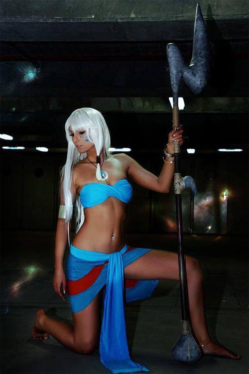 Nữ chiến binh Atlantis - nhân vật kiểu này cũng dễ đục khoét tâm hồn trẻ em thật.