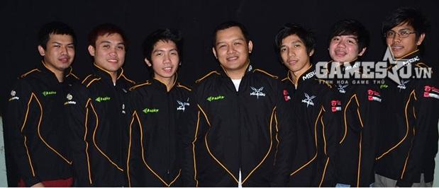 Đội hình của Mineski tham dự GPL Mùa Xuân 2015