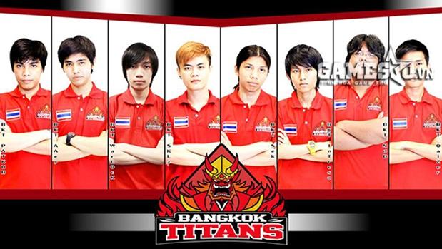 Đội hình của Bangkok Titans tham dự GPL Mùa Xuân 2015