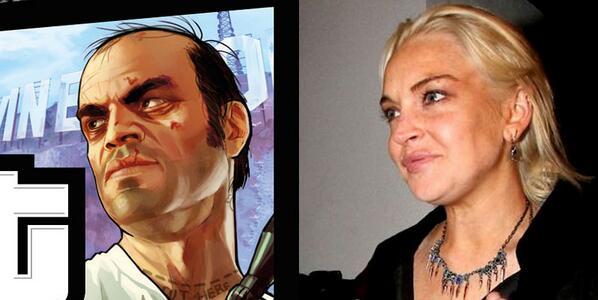 Lindsay Lohan có vẻ giống Trevor nhiều hơn?