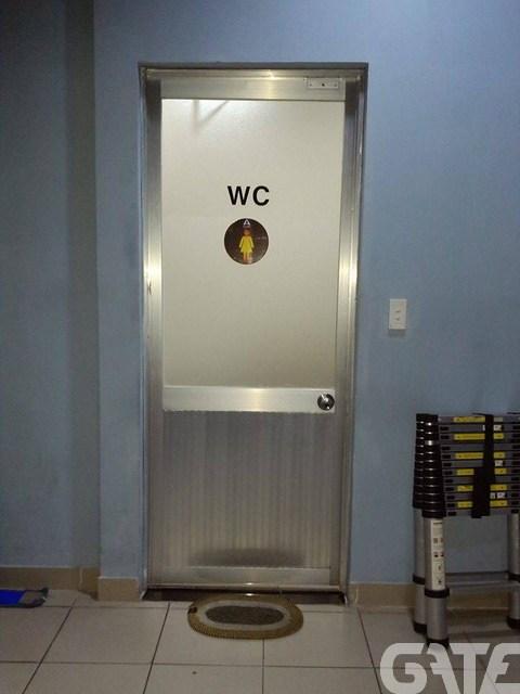 Không phải Net nào cũng có WC dành riêng cho nữ