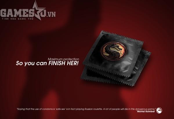 Tiếp đến là tựa game đối kháng nổi tiếng Mortal Kombat.