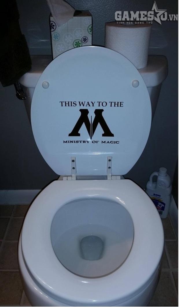 Toilet độc quyền của Bộ trưởng bộ pháp thuật trong Harry Potter