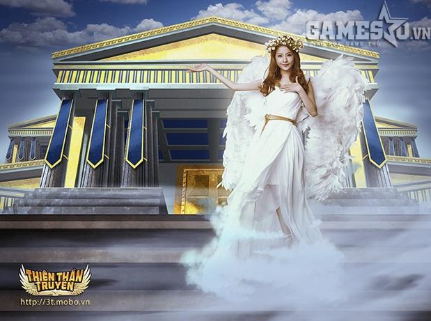 Hoa hậu Trúc iễm và hot girl Chipu nhận được rất nhiều sự yêu quý của cộng đồng game thủ
