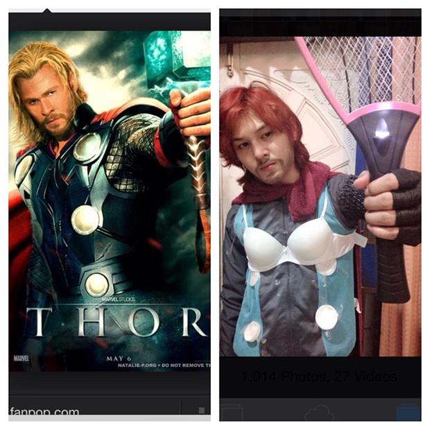 Thần Sấm Thor?