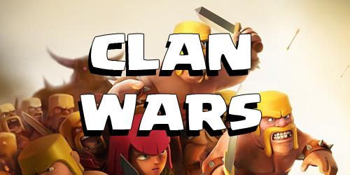 Clan war trong CoC.