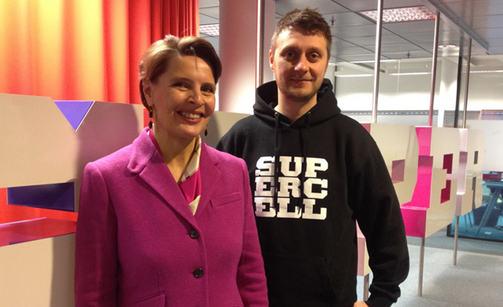 Lasse Louhento (phải) - Product leader của CoC