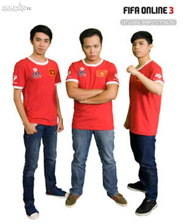 Từ trái qua: Thái Bảo, Quang Tuấn, Hoài Phúc