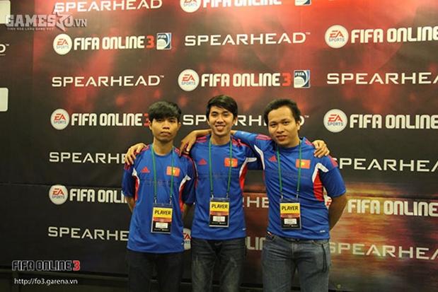 3 tuyển thủ Việt Nam tại Nexon Arena, Seoul sau buổi bốc thăm