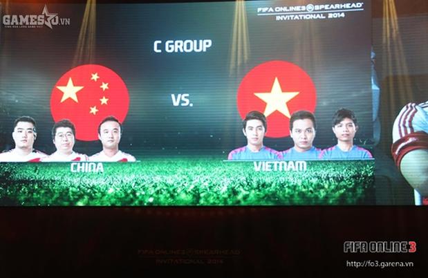 Trung Quốc là đối thủ đầu tiên của Việt Nam
