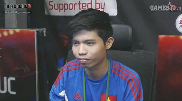 Hoài Phúc đã có trận đấu rất hay trước Zou Yang của Trung Quốc