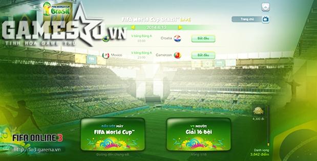 'Sắc' của game rất hợp vời màu xanh lá của Brazil