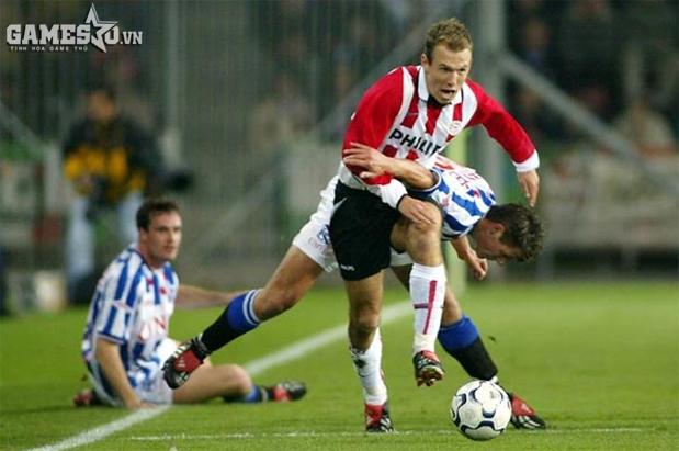Robben trong màu áo CLB PSV