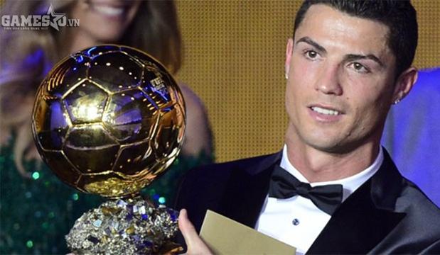Cristiano Ronaldo - quả bóng vàng 2013