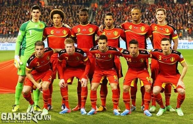 Bỉ sở hữu một đội hình đồng đều và chất lượng