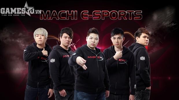 Machi E-sports – Đại diện mới của Đài Loan trong mùa giải này