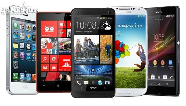 Smartphone tràn ngập thị trường kéo theo gMO phát triển nhanh chóng
