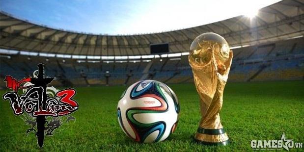 Game thủ mê Võ Lâm 3 vẫn đồng hành cùng World Cup