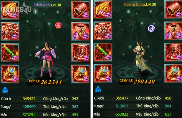 Trình Anh – Hoàng Dung