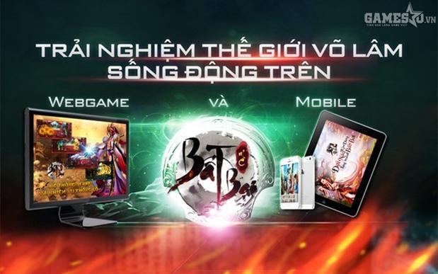 WebMO (Webgame + gMO) Bất Bại Online hỗ trợ cả PC và mobile