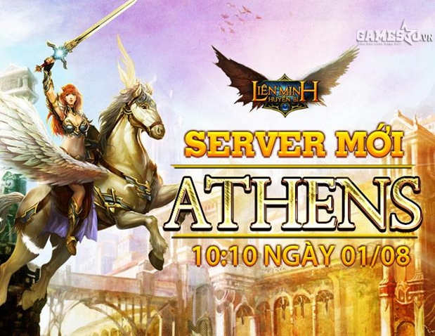 Server thứ 4 mang tên Athens