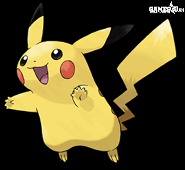 Pikachu trong Pokemon Yellow Version
