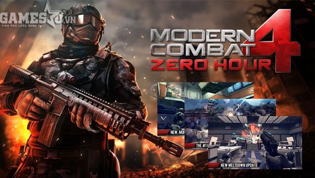 Những tựa game bắn súng cực đỉnh trên mobile