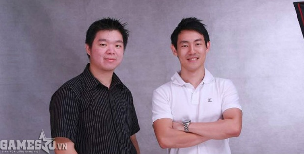 Đồng sáng lập của Toge Productions: Sudarmin (trái) và Kris Antonio (phải).