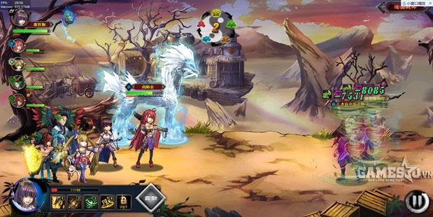 Cốt truyện của game được kể lại theo phong cách truyện tranh