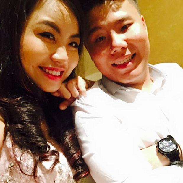 Ảnh Nguyễn Tùng và bạn gái
