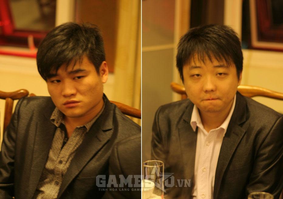 Sơ Luyến (trái) và ShenLong (phải) - 2 niềm tự hào của nền AOE Trung Quốc
