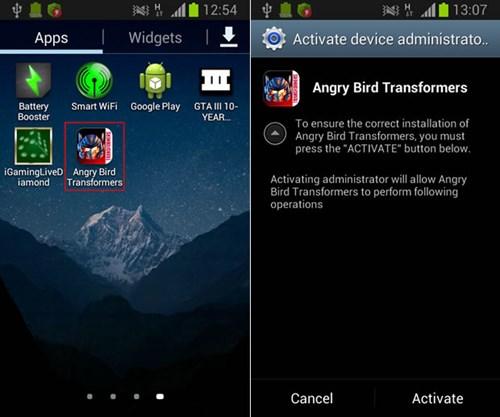 Cài game lậu, điện thoại Android bị xóa sạch dữ liệu
