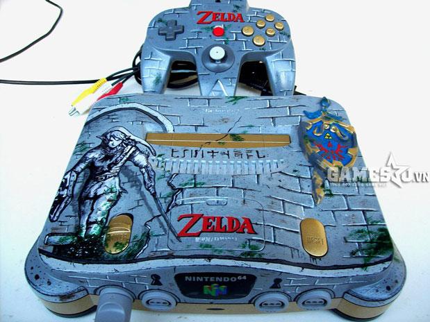 Nintendo 64 phiên bản lâu đài Hyrule trong Zelda