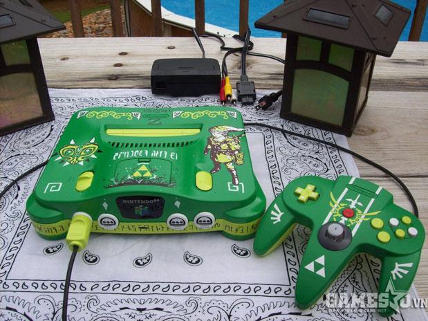 Nintendo 64 phiên bản The Legend of Zelda (theo tông màu chủ đạo của nhân vật Link)