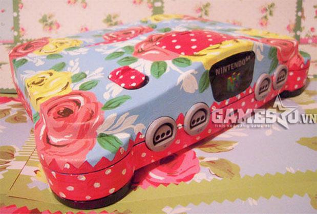 Nintendo 64 kiểu hoa vintage cho các bạn nữ hoài cổ