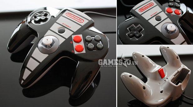 Nintendo 64 chế kiểu điện tử 4 nút (NES)