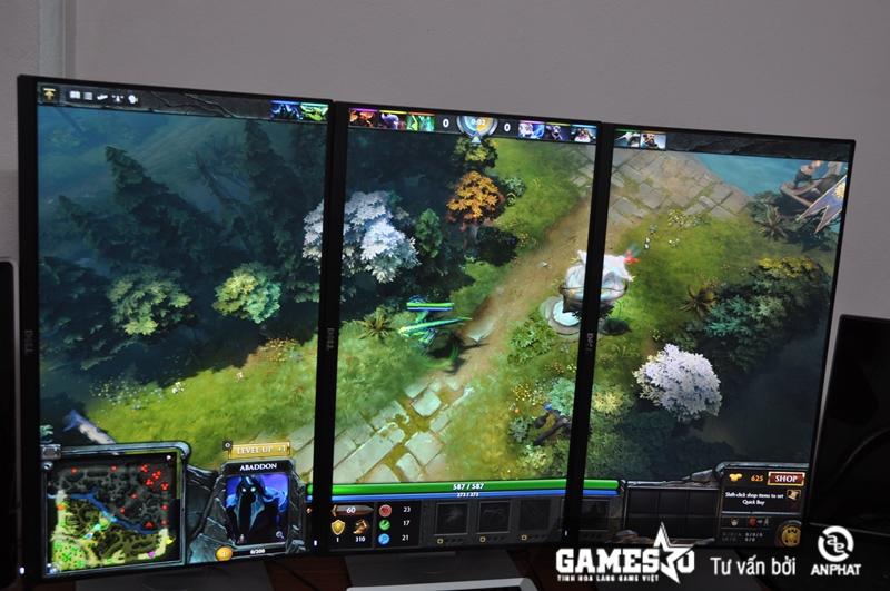 Không chỉ hiển thị rõ ràng hơn các chỉ số và trang bị của hero, thế giới  trong DOTA 2 còn được phản ánh cực kỳ tỉ mỉ với hệ thống màn hình này