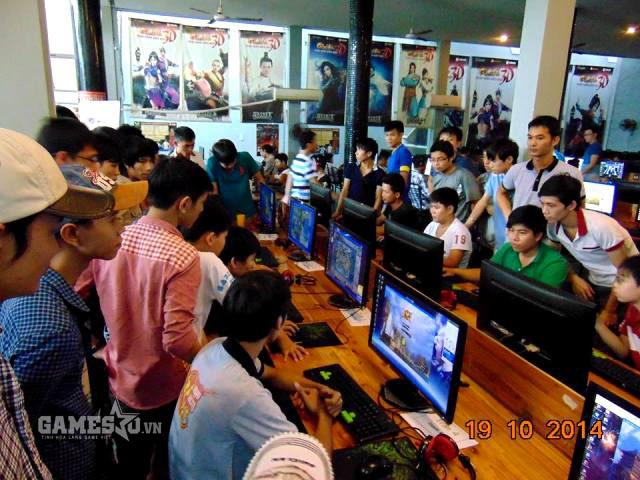 Thi đấu offline phòng máy tại Đà Nẵng