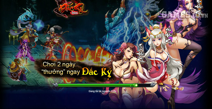 Giao diện loading game