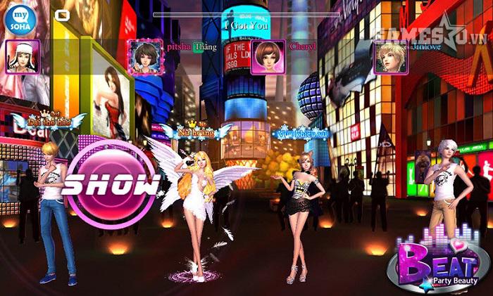 Game thủ tung cánh hóa Thiên thần vào ngày trở về của thiên đường sàn nhảy BEAT 3D.
