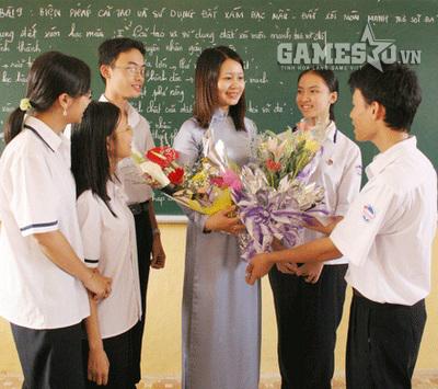 Đến thăm các thầy cô